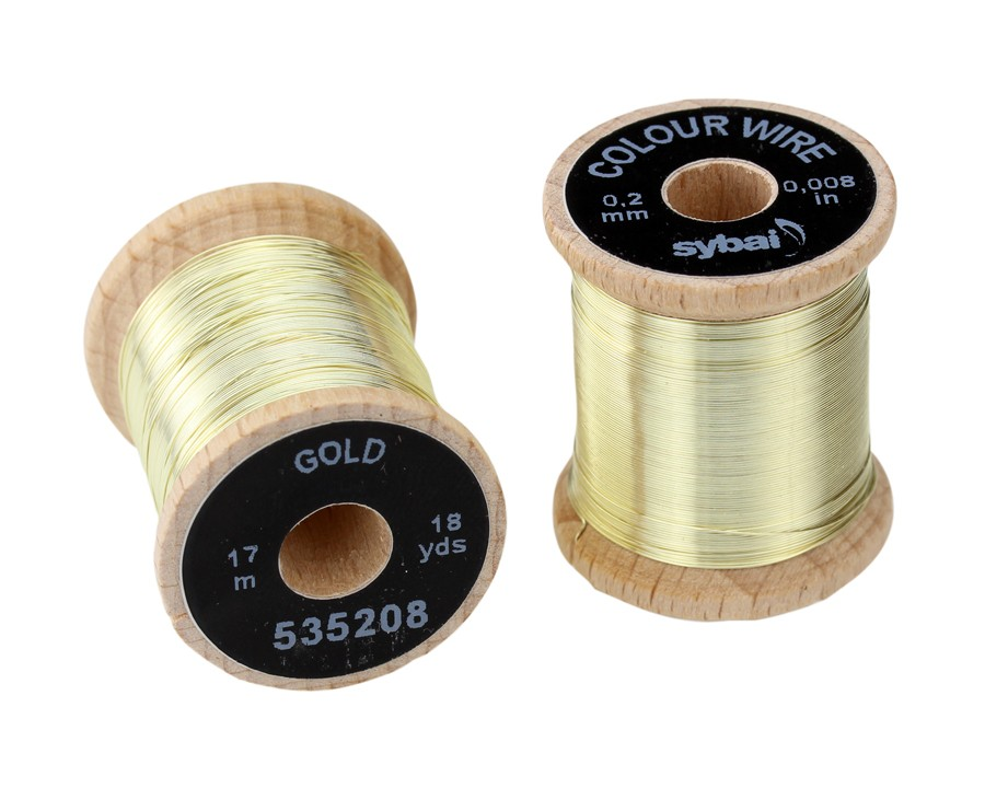 Colour Wire Gold 0,2