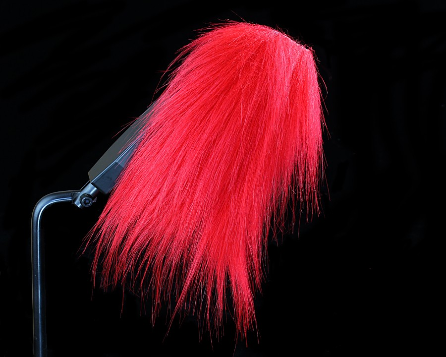 Craft Fur, Fire Red
