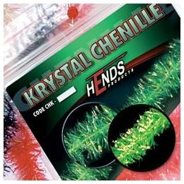 Krystal chenille chartreuse
