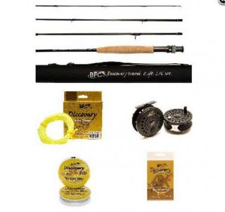 BFC Discovery fly set 8 ft 3/4