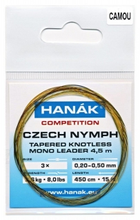 HANÁK Competition Czech Nymph Camou 4,5 m