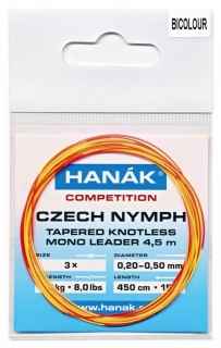 HANÁK Competition Czech Nymph Bicolor 4,5 m