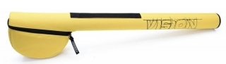 Travel Tube Rod & Reel 95cm Yellow